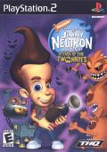 The Adventures of Jimmy Neutron: Boy Genius - Attack of the Twonkies PlayStation 2 Front Cover