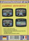 Comic Bakery Commodore 64 Back Cover