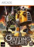 Gatling Gears Xbox 360 Front Cover