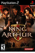 King Arthur PlayStation 2 Front Cover
