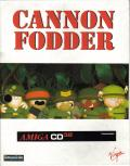 Cannon Fodder Amiga CD32 Front Cover