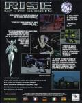 Rise of the Robots Amiga CD32 Back Cover