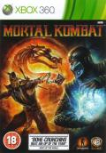 Mortal Kombat Xbox 360 Front Cover