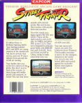 Street Fighter DOS Back Cover