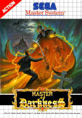 Master of Darkness SEGA Master System Front Cover