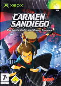 Carmen Sandiego: The Secret of the Stolen Drums Xbox Front Cover