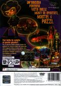 Psychonauts PlayStation 2 Back Cover