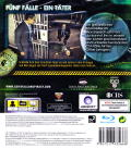 CSI: Crime Scene Investigation - Fatal Conspiracy  PlayStation 3 Back Cover