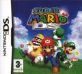 Super Mario 64 DS Nintendo DS Front Cover