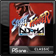 Street Fighter Alpha: Warriors' Dreams PlayStation 3 Front Cover