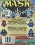 MASK ZX Spectrum Back Cover