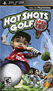 Hot Shots Golf: Open Tee PSP Front Cover