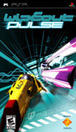 WipEout Pulse PSP Front Cover