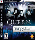 SingStar Queen PlayStation 3 Front Cover