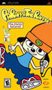 PaRappa the Rapper PSP Front Cover