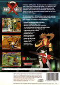 Guilty Gear X PlayStation 2 Back Cover