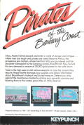 Pirates of the Barbary Coast DOS Back Cover
