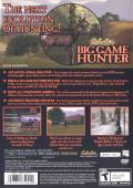 Cabela's Big Game Hunter PlayStation 2 Back Cover