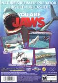Jaws: Unleashed PlayStation 2 Back Cover
