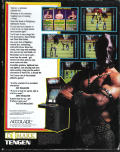 Pit-Fighter DOS Back Cover