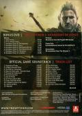 The Witcher 2: Assassins of Kings Windows Back Cover Bonus Materials Keep Case