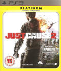 Just Cause 2 PlayStation 3 Front Cover