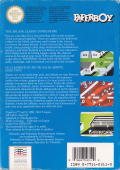 Paperboy NES Back Cover