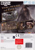 Disney Pirates of the Caribbean: At World's End Wii Back Cover