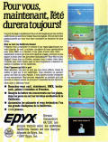 California Games ZX Spectrum Back Cover