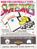 Skate Crazy ZX Spectrum Inside Cover