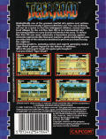 Tiger Road ZX Spectrum Back Cover