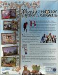 Monty Python & the Quest for the Holy Grail Windows Back Cover