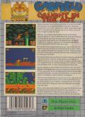 Garfield: Caught in the Act Game Gear Back Cover