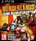 Borderlands: Game of the Year Edition PlayStation 3 Front Cover