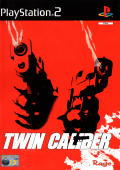 Twin Caliber PlayStation 2 Front Cover