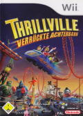 Thrillville: Off the Rails Wii Front Cover
