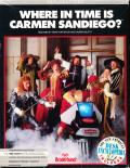 Where in Time is Carmen Sandiego? DOS Front Cover