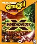 Em@il Games: X-COM Windows Front Cover