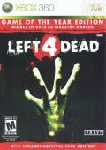 Left 4 Dead: Game of the Year Edition Xbox 360 Front Cover