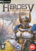 Heroes of Might and Magic V Windows Other Keep case - front cover