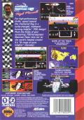 Newman/Haas IndyCar featuring Nigel Mansell Genesis Back Cover
