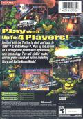Teenage Mutant Ninja Turtles 2: Battle Nexus Xbox Back Cover