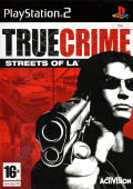 True Crime: Streets of LA PlayStation 2 Front Cover