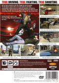 True Crime: Streets of LA PlayStation 2 Back Cover