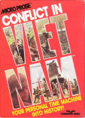 Conflict in Vietnam PC Booter Front Cover