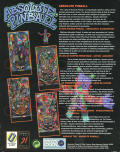 Absolute Pinball DOS Back Cover