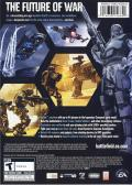 Battlefield 2142 Macintosh Back Cover