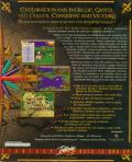 Conquest of the New World (Deluxe Edition) DOS Back Cover