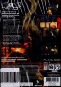 Infernal Xbox 360 Back Cover