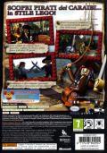 LEGO Pirates of the Caribbean: The Video Game Xbox 360 Back Cover